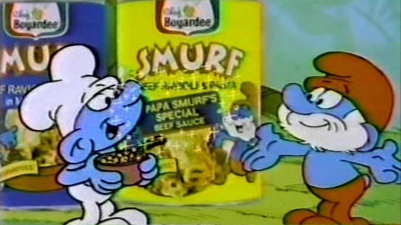 Smurf Pasta