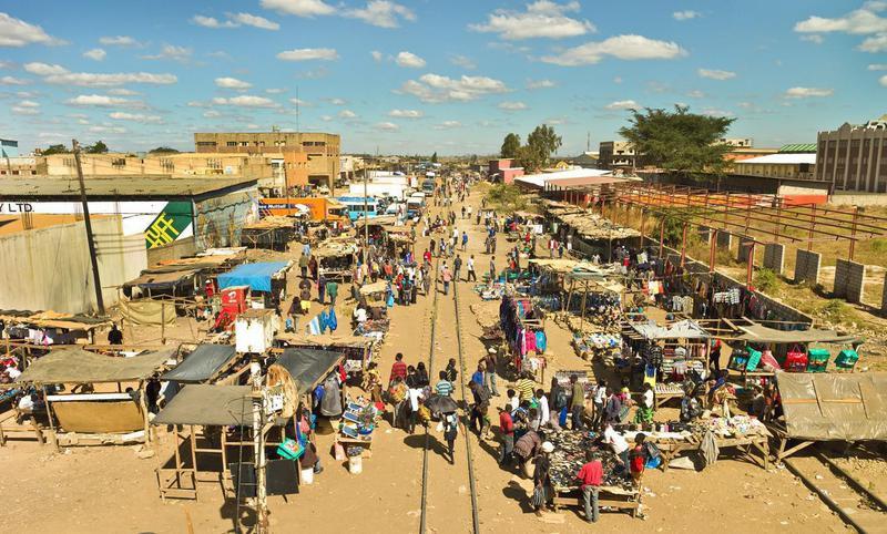 Kamwala market in Lusaka, Zambia