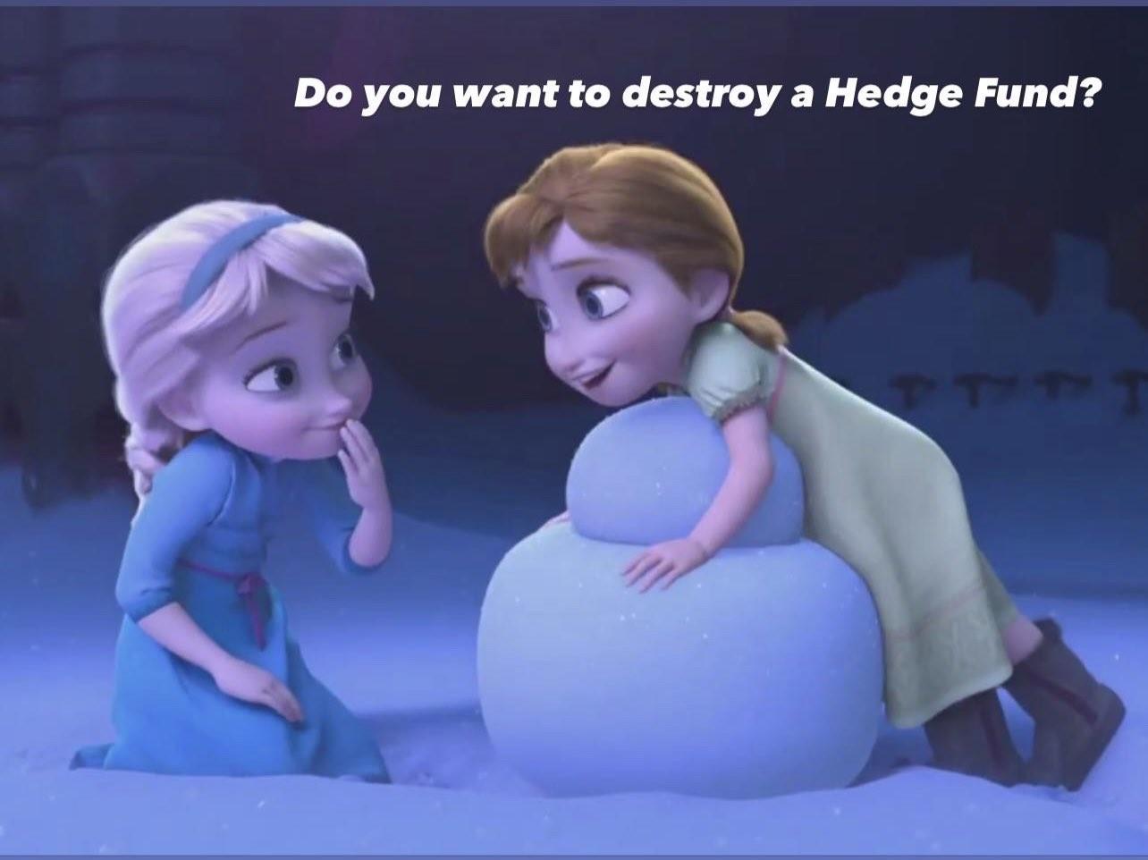 Gamestop Frozen meme