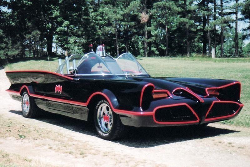 2. The Batmobile