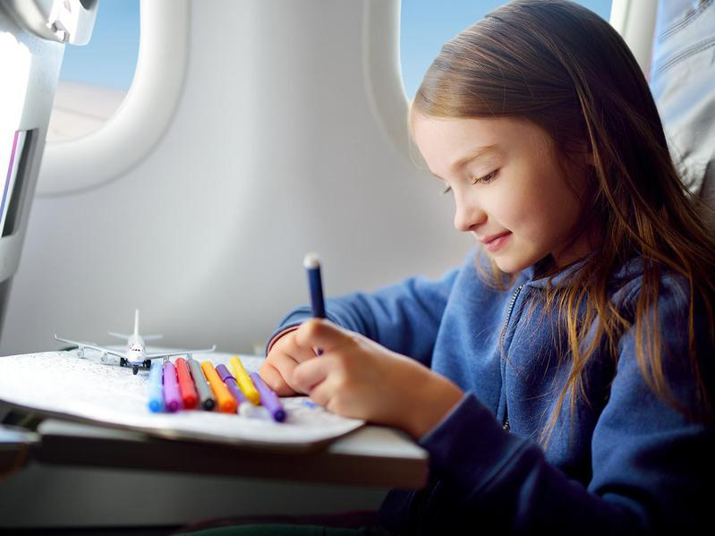 airplane coloring