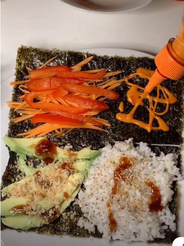 Vegan sushi wrap recipes