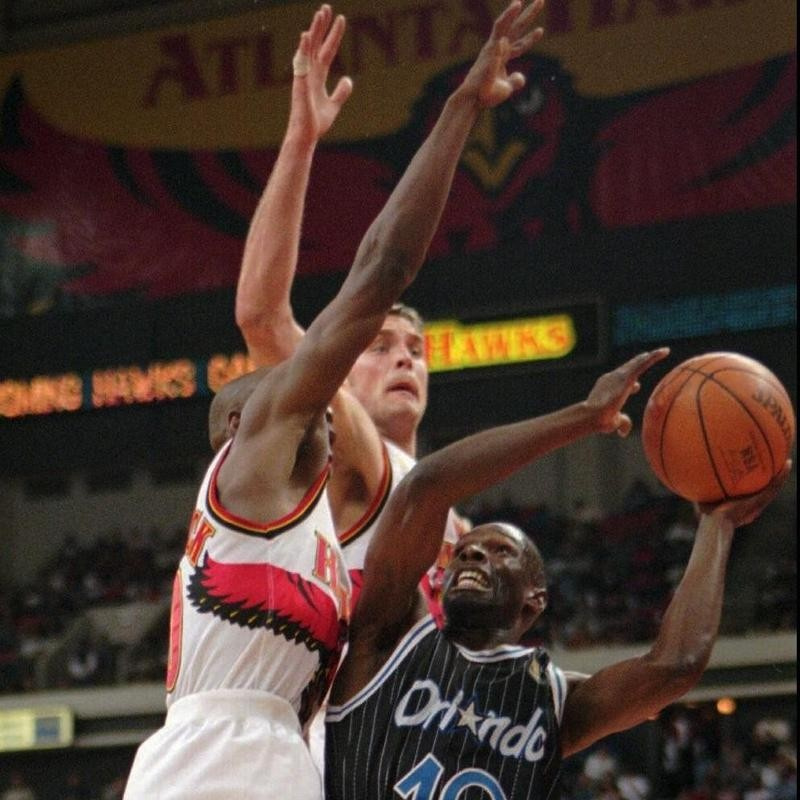 Mookie Blaylock and Christian Laettner