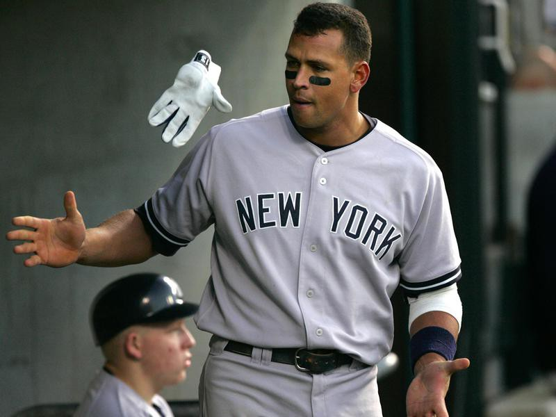 A-Rod frustrated