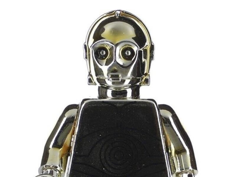 Lego Chrome-Plated C-3PO