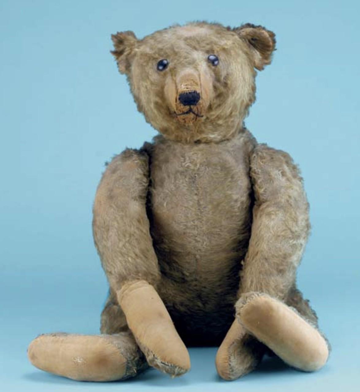 Worn Steiff Teddy Bear