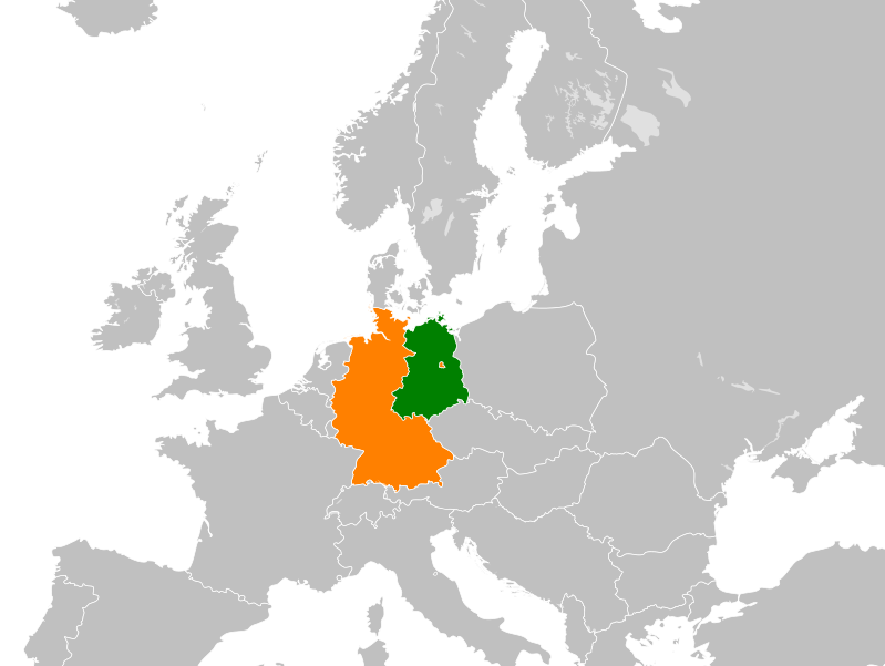 East Germany and West Germany
