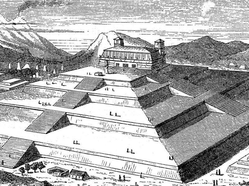 Great Pyramid of Cholula, Mexico
