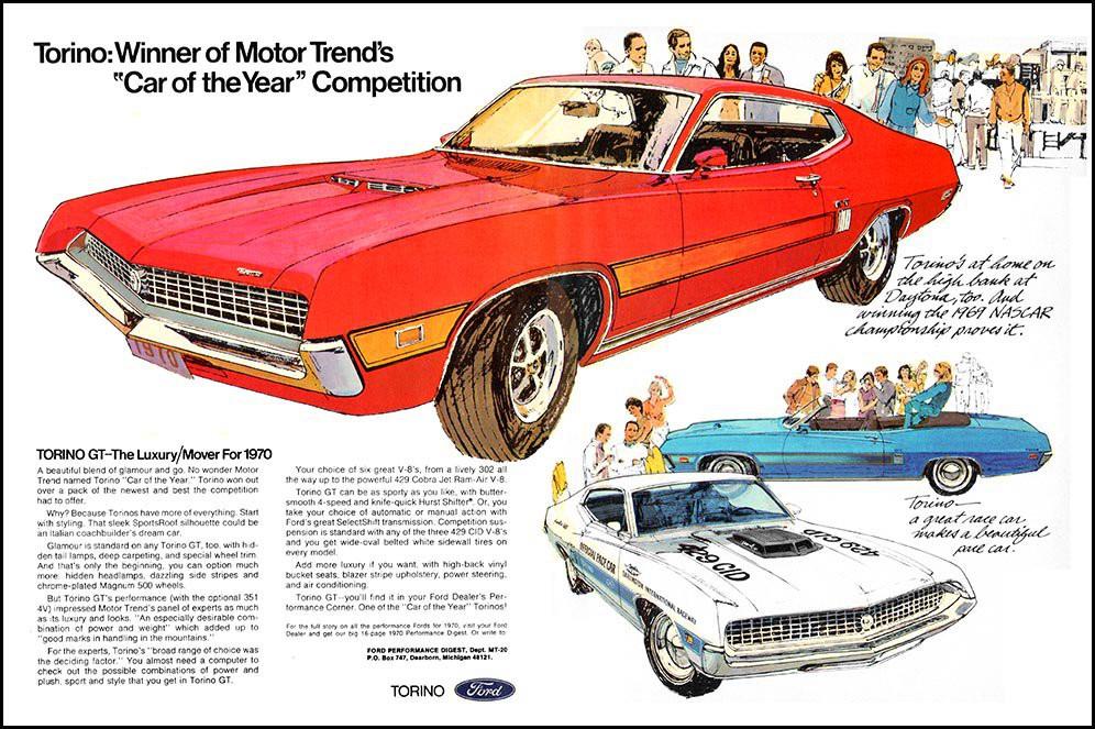 1970 Ford Torino advertisement