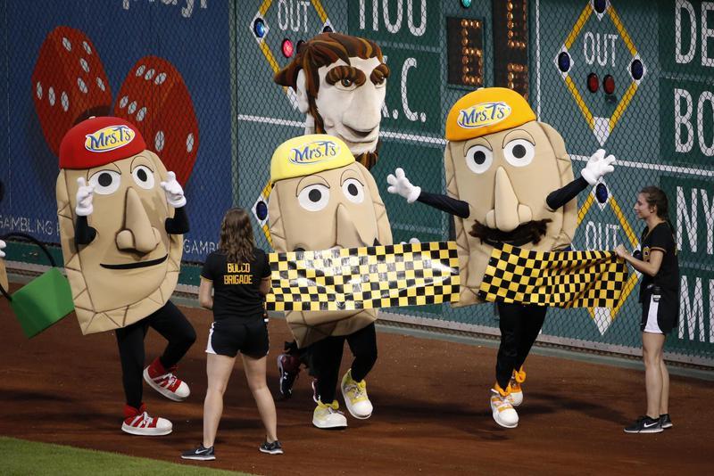 Pittsburgh Pirates racing pierogis