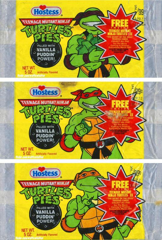 Teenage Mutant Ninja Turtle Pudding Pies