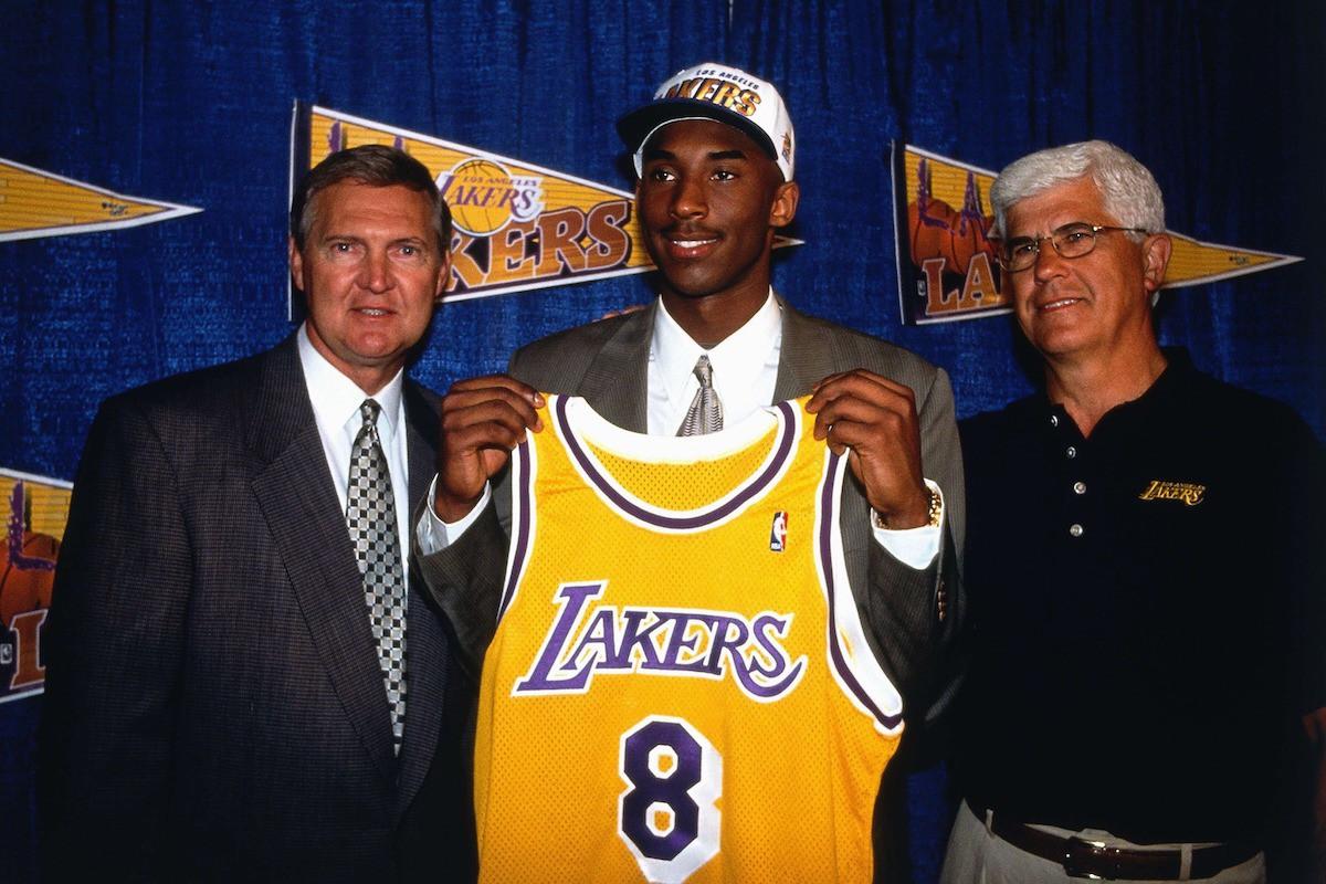 Jerry West, Kobe Bryant, Del Harris