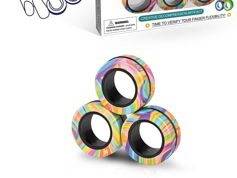 Magnetic Ring Fidget Toys