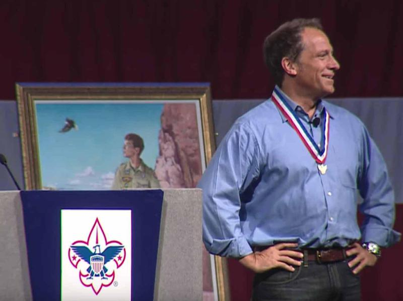 mike rowe eagle scout