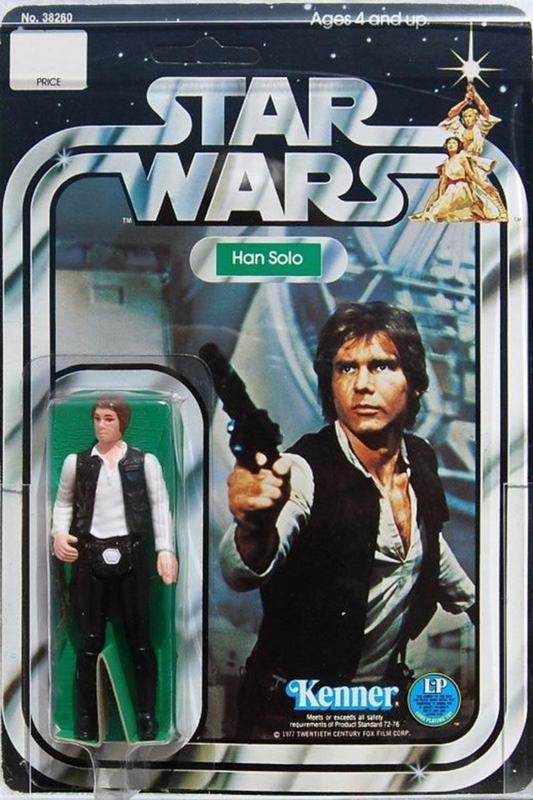 """Han Solo """"Small Head"""" figure (1980)"""