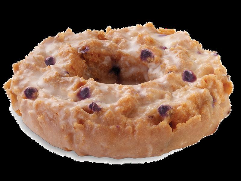 Glazed Blueberry Cake Krispy Kreme Donut
