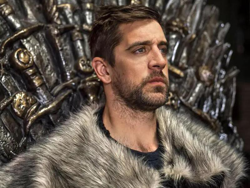 Aaron Rodgers on Game of Thrones