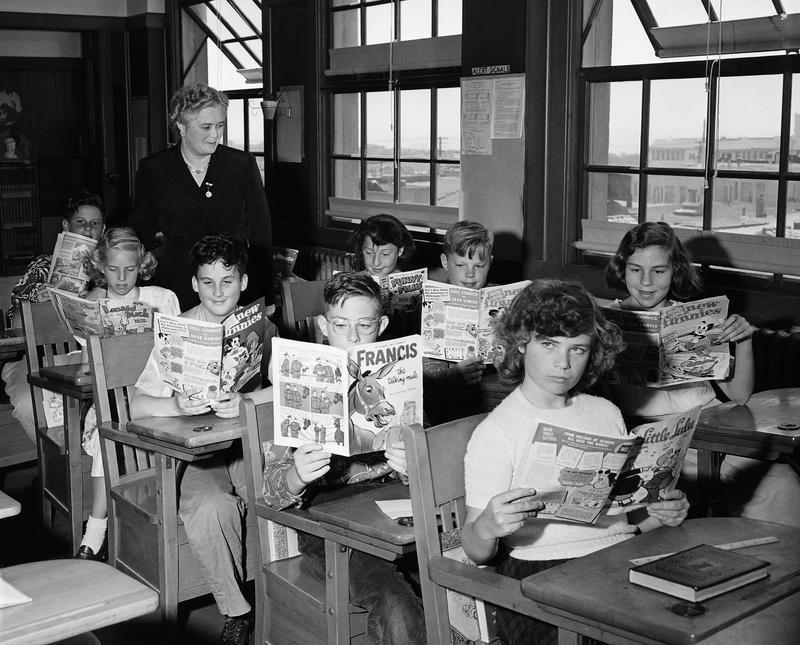 1951 classroom