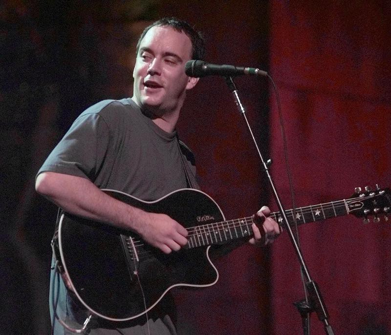 Dave Matthews at the MTV Video Music Awards rehearsal in 1998