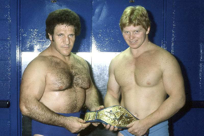 Bruno Sammartino and Bob Backlund