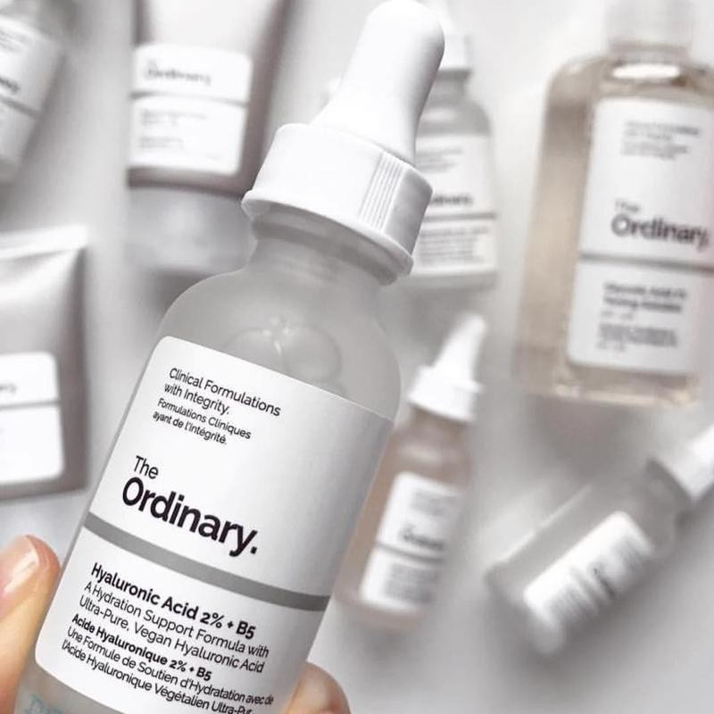 Ordinary Hyaluronic Acid 2%+B5 held over other products