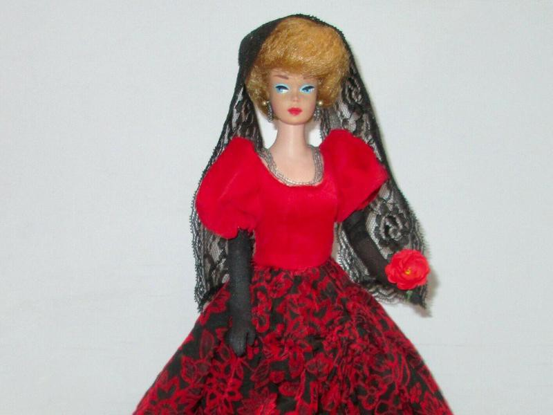 Japanese Exclusive Barbie Spanish Ball Gown