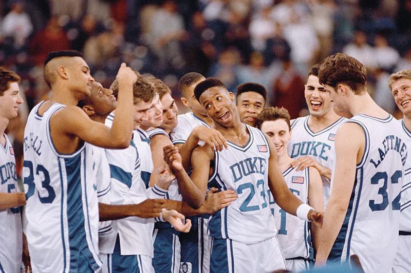 Brian Davis and 1990-91 Duke Blue Devils
