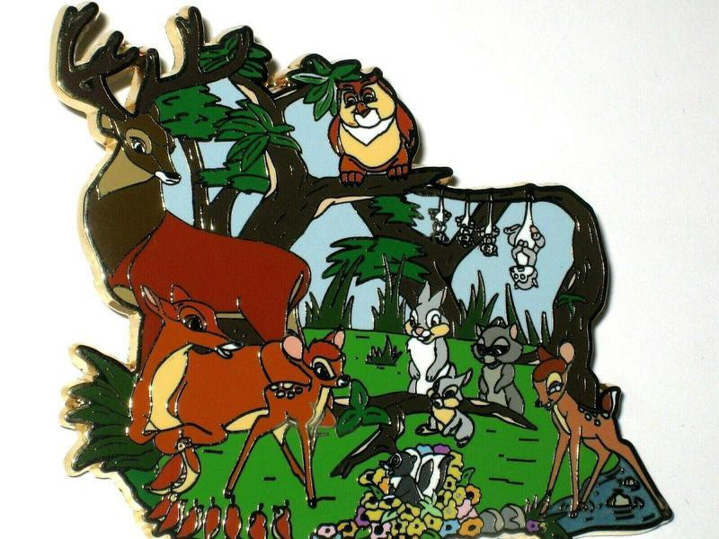 Jumbo Bambi Rare Disney Pin