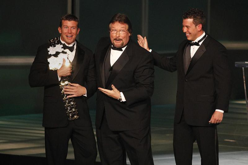 Ted Jr., Ted and Brett DiBiase