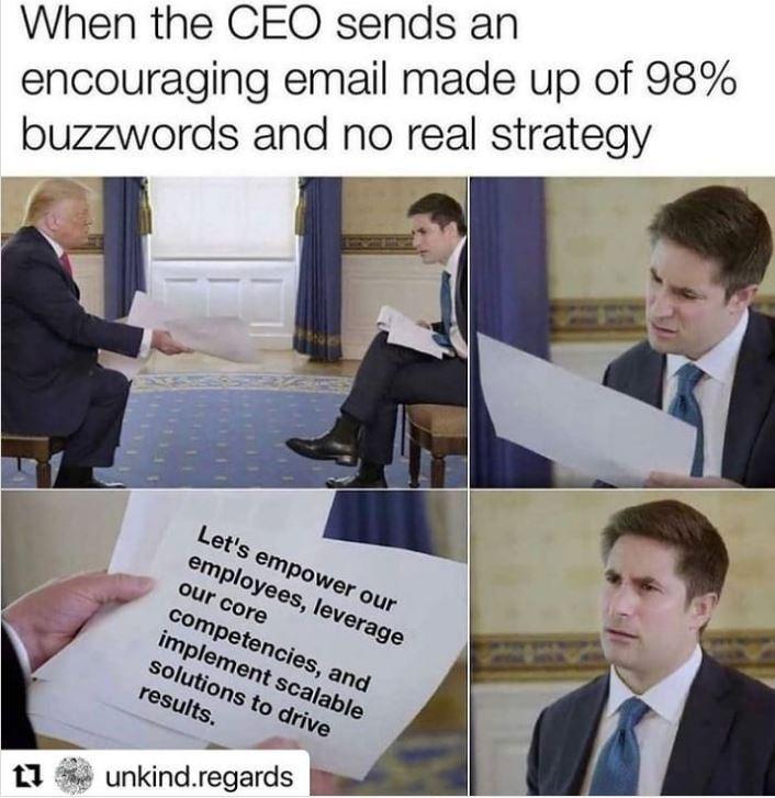 CEO buzzwords