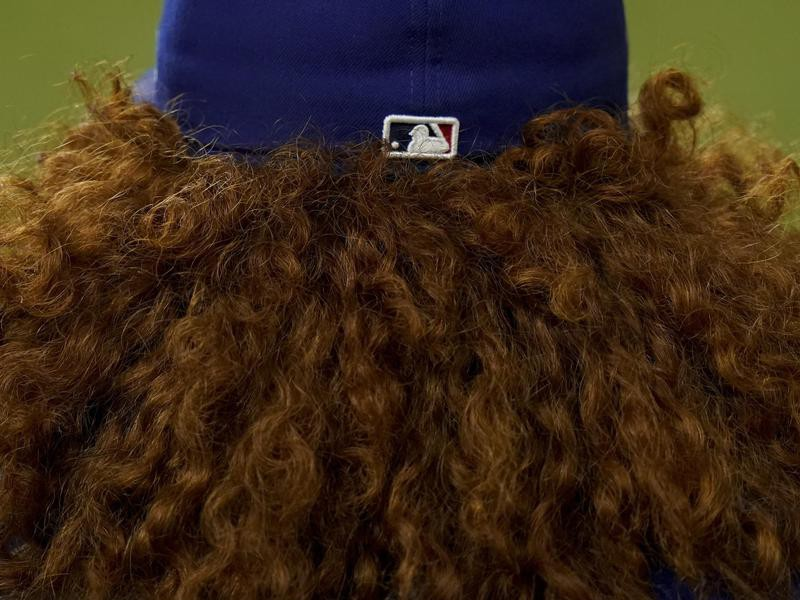 Dustin May's hair