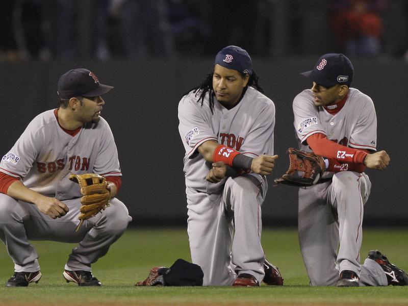 Mike Lowell, Manny Ramirez, Julio Lugo