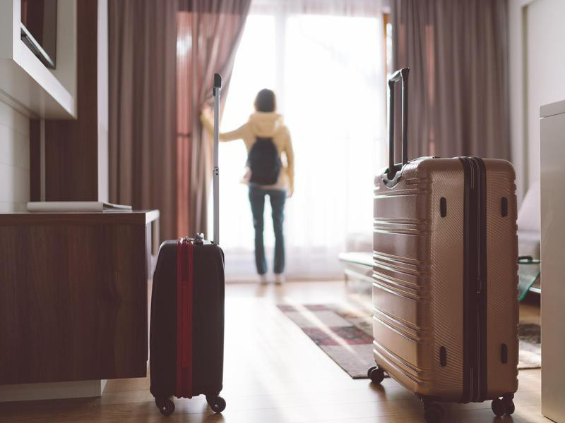 Traveling With a Humongous Suitcase