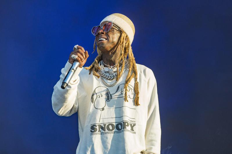 Lil Wayne performs at Lollapalooza
