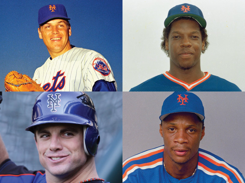 New York Mets Mount Rushmore