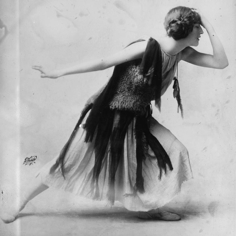 Violet Romer in Flapper Dress
