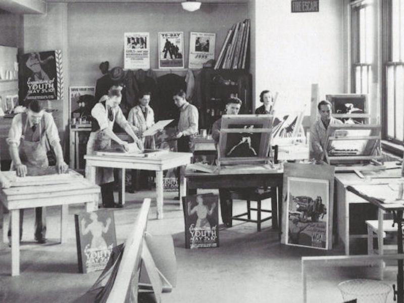 Federal Art Project artists