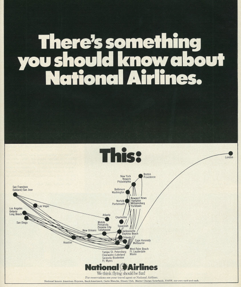 National Airlines ad