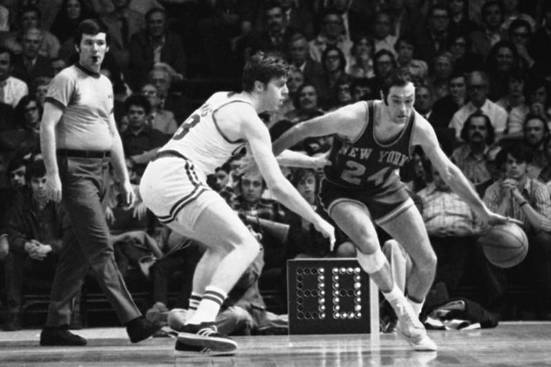 Dave Cowens and Bill Bradley