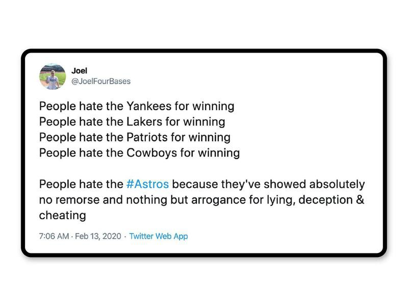 Harsh truths about Astros