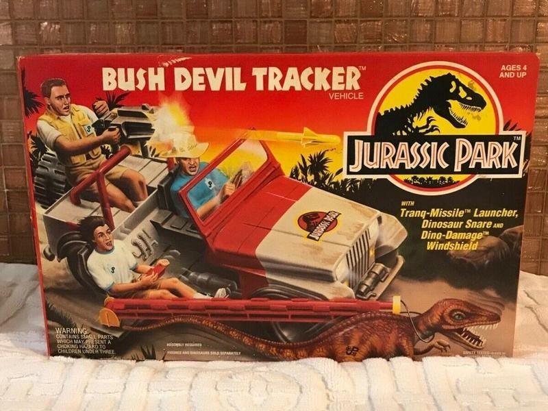 Jurassic Park Bush Devil Tracker