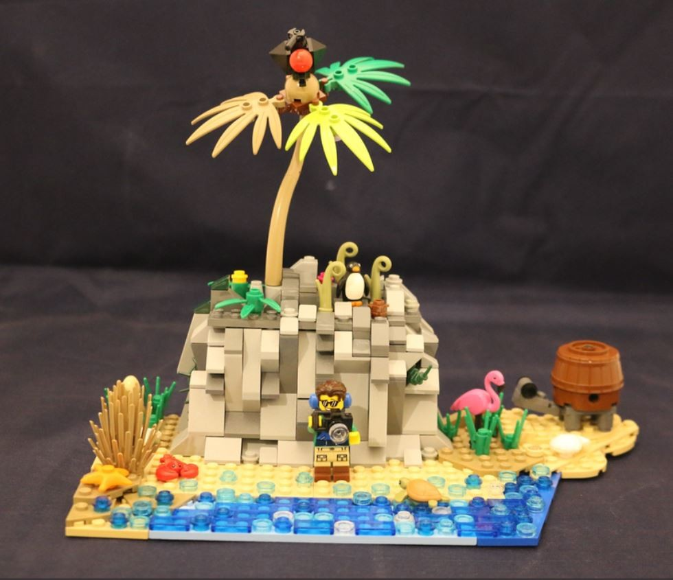 Galapagos Islands Lego Idea