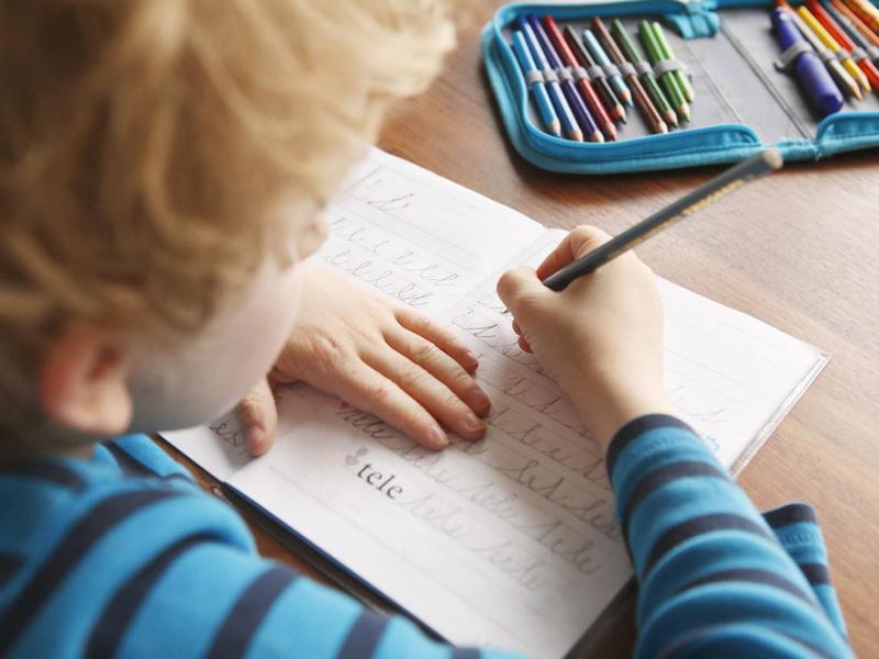 Parenting lies about cursive