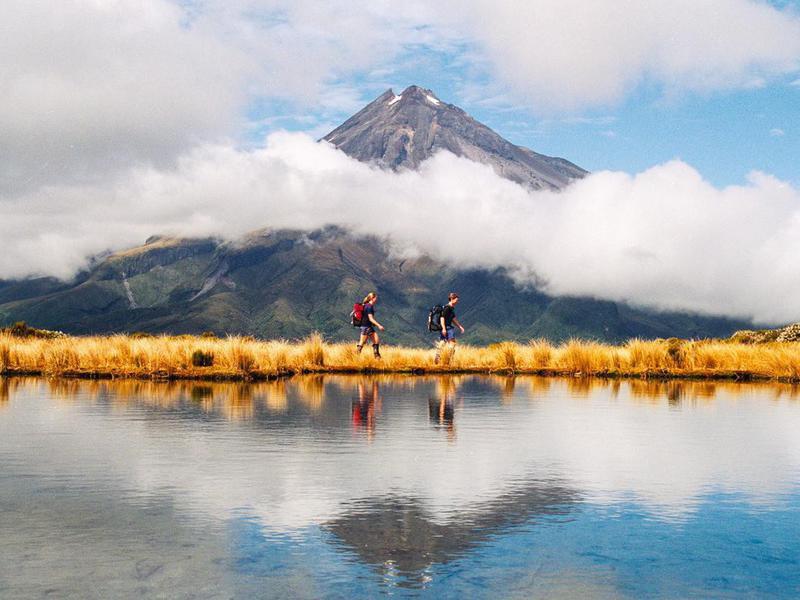 Mount Taranaki Egmont in New Zealand