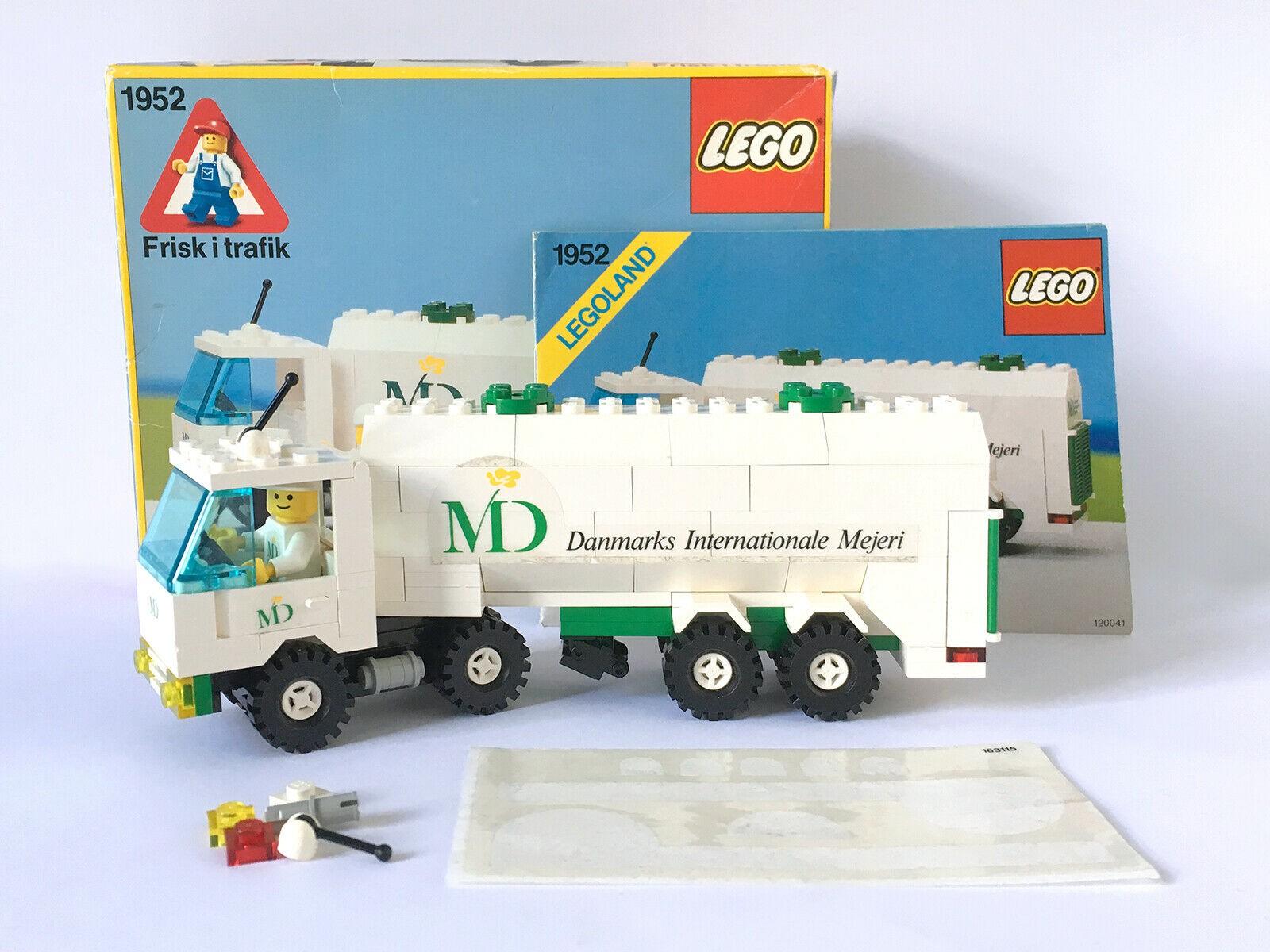 Lego Dairy Tanker