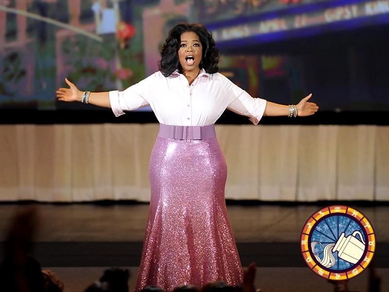 Aquarius: Oprah Winfrey