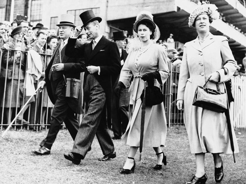 Princess Elizabeth and King George VI