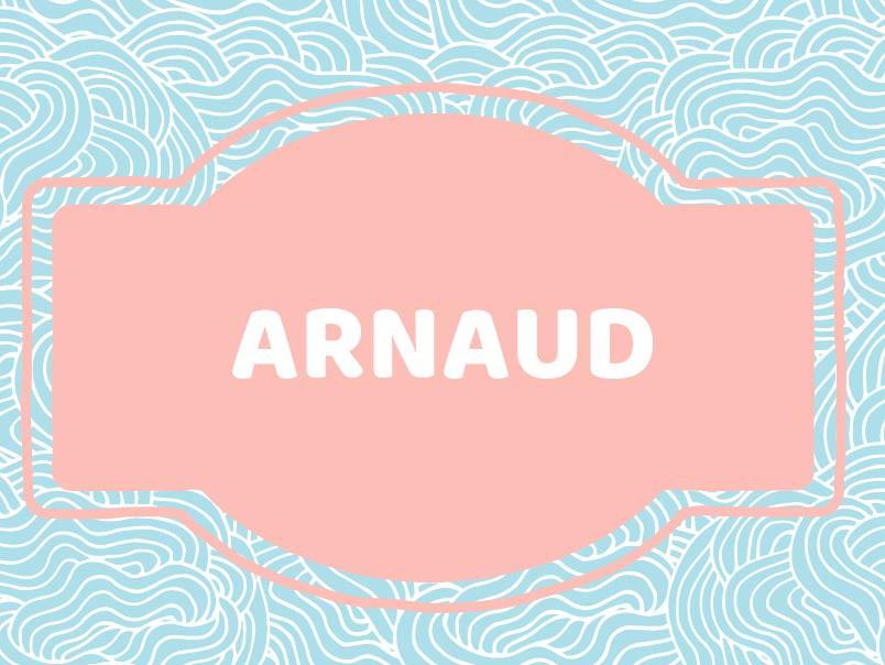 Baby name for boys: Arnaud