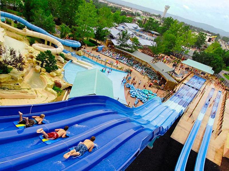 Silver Dollar City's White Water