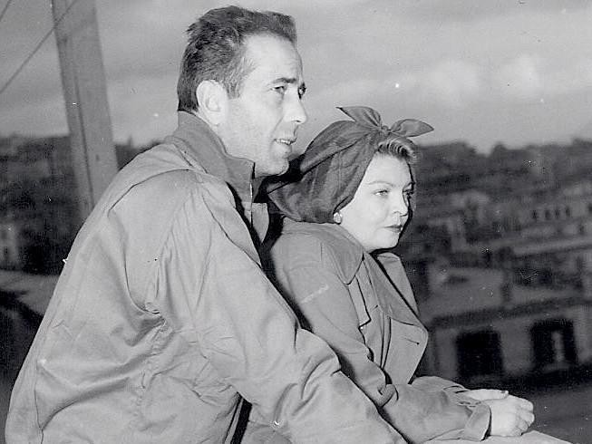 Humphrey Bogart and Mayo Methot